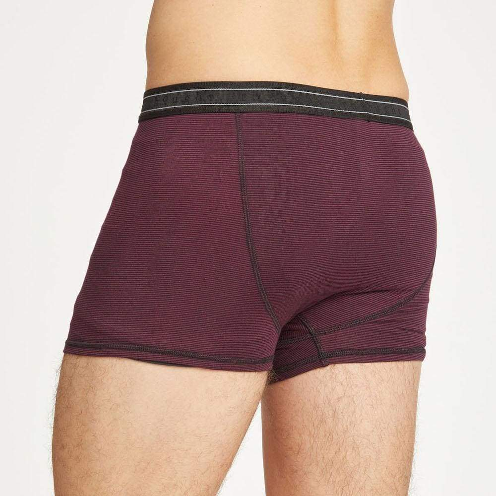 Thought Mens Bamboo Michael Boxers by Thought - Bilberry &Keep