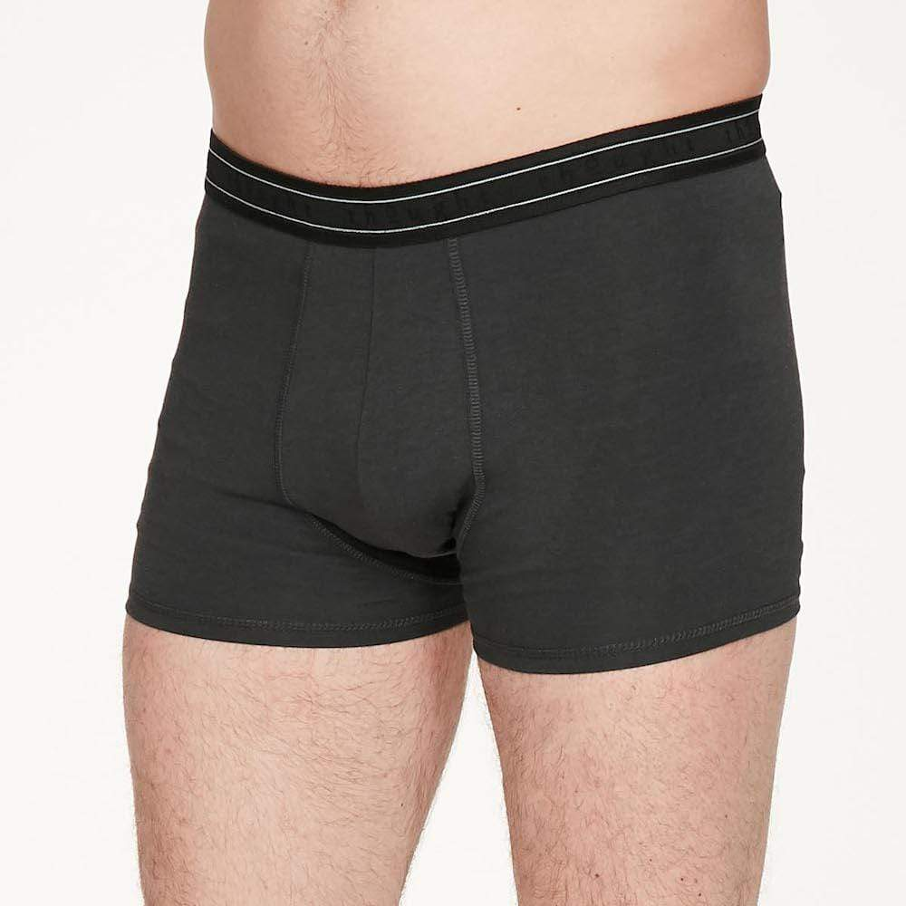 Men's Bamboo 'Arthur' Boxers by Thought - Pewter &Keep