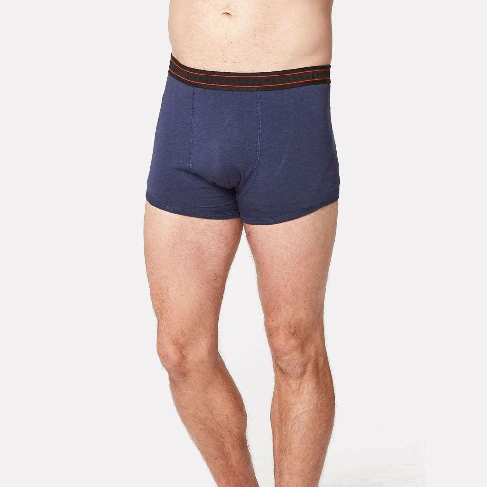 Thought Mens Bamboo Arthur Boxers By Thought - Navy &keep