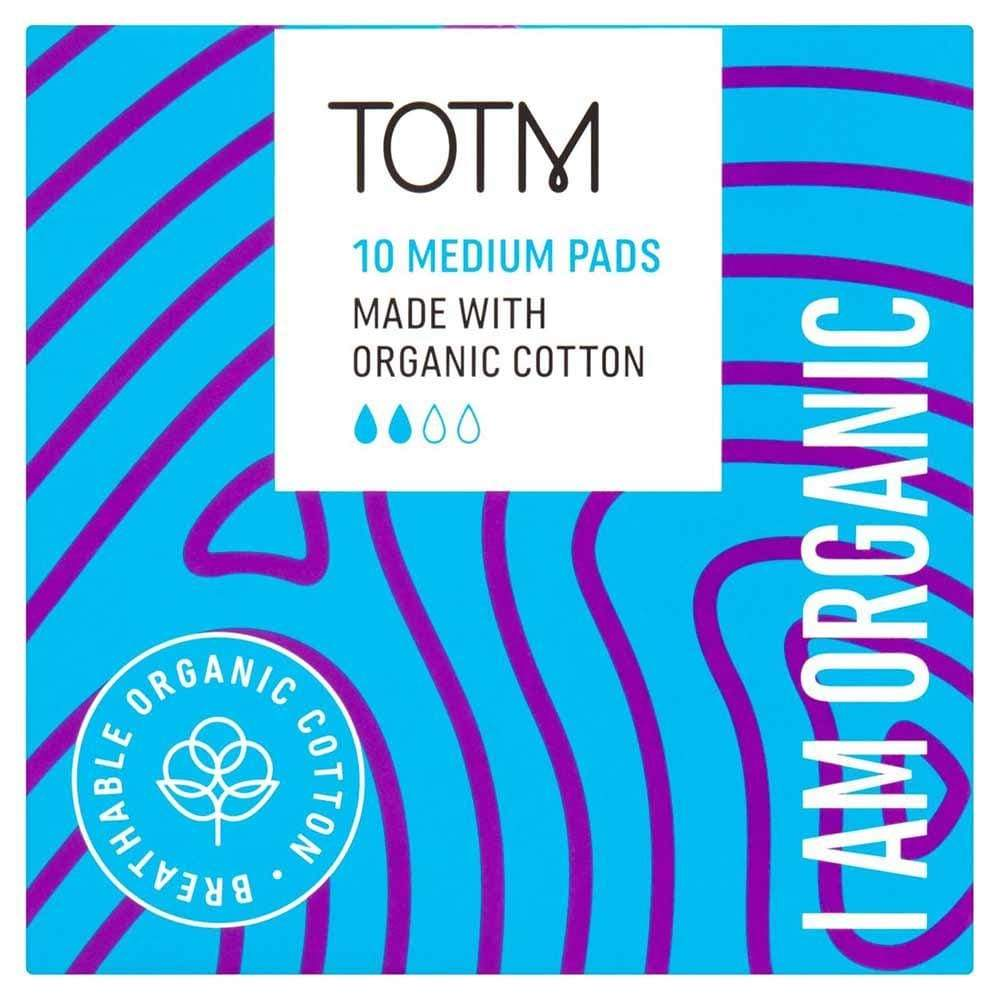 Organic Cotton Medium Sanitary Pads by TOTM &Keep