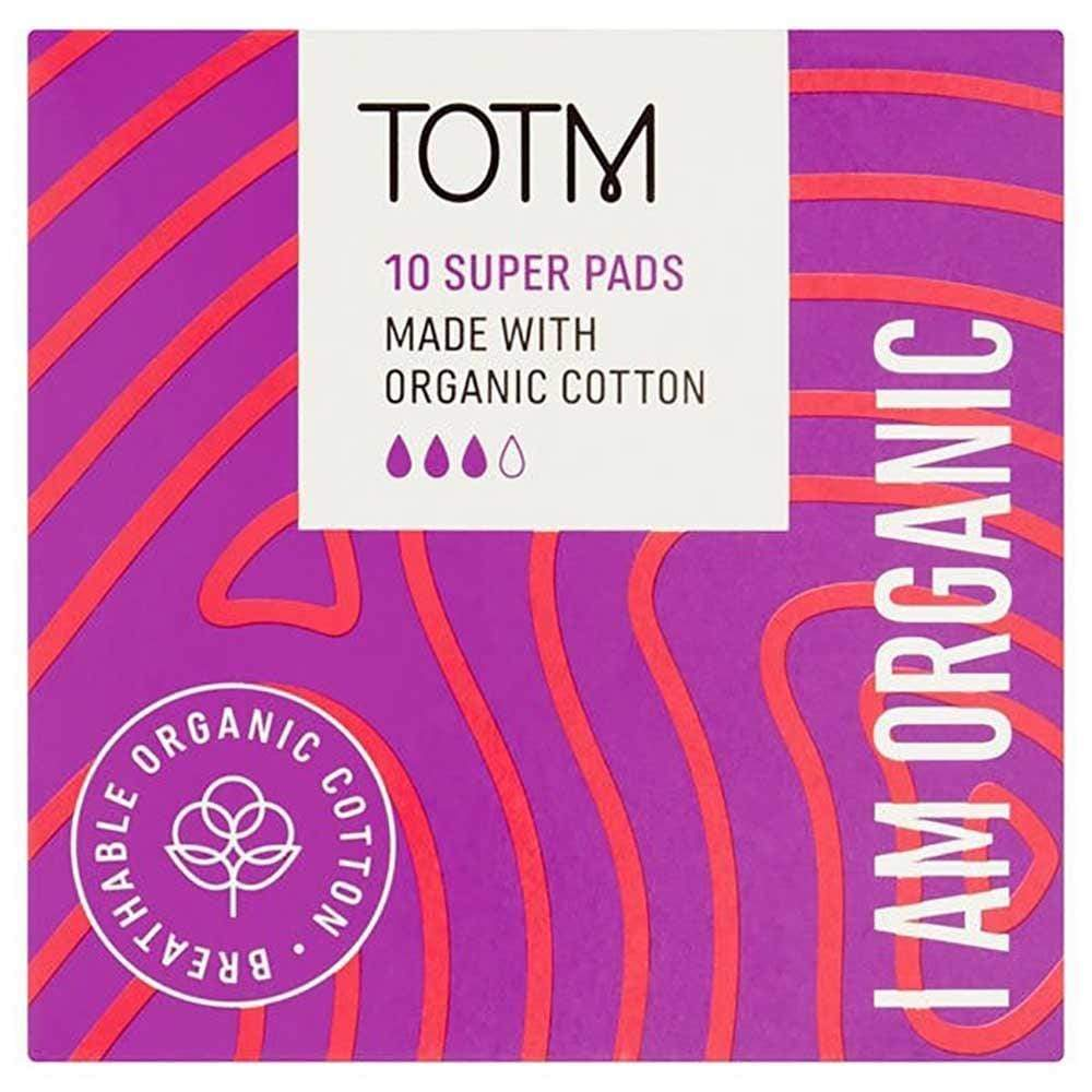 Organic Cotton Super Sanitary Pads by TOTM &Keep