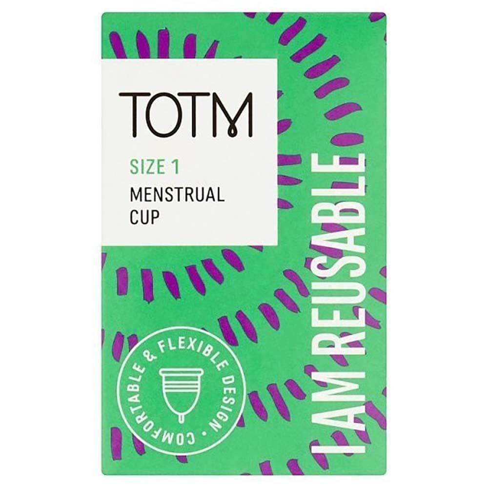 Reusable Menstrual Cup Size 1 by TOTM &Keep
