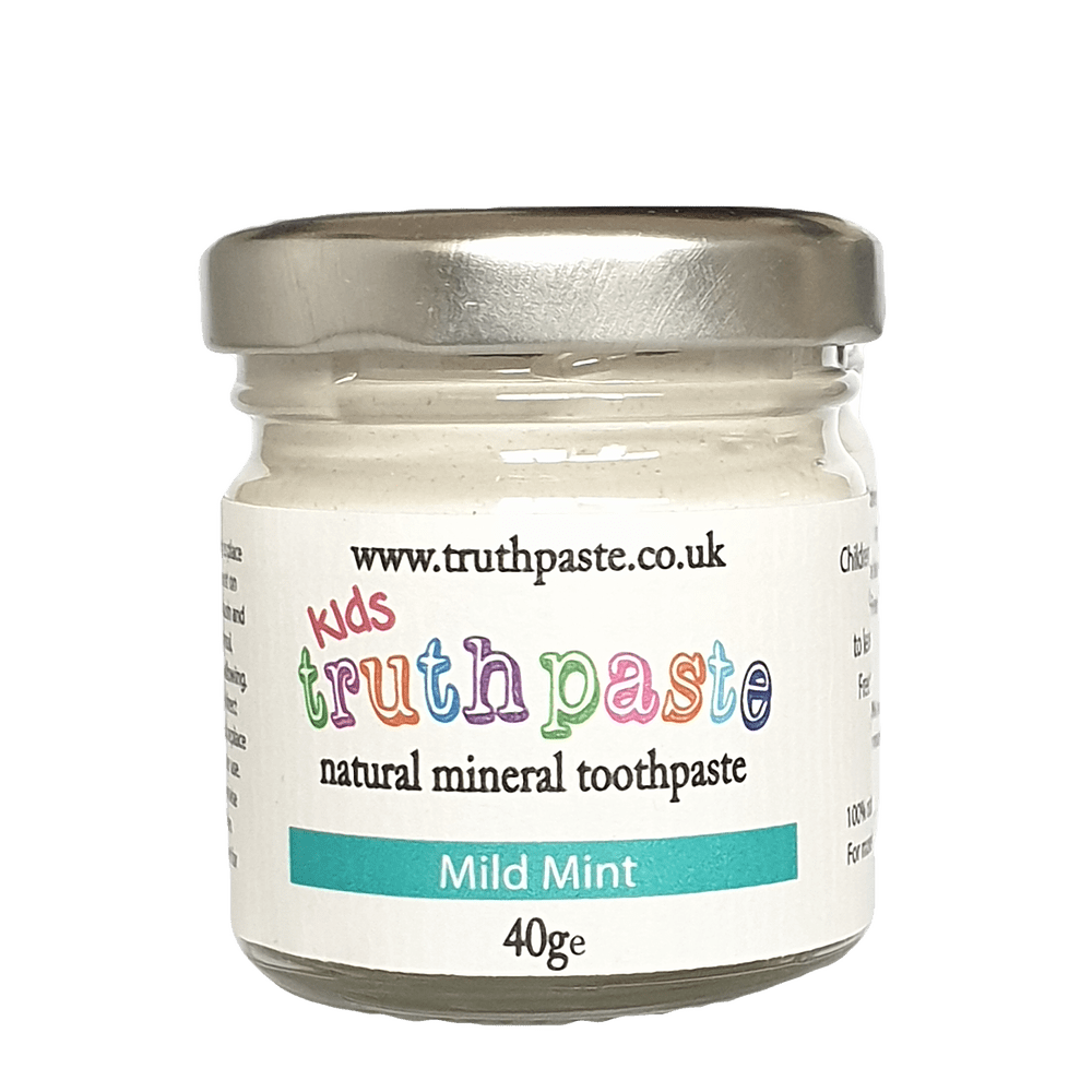 Truthpaste Kids - Natural Toothpaste Mild Mint 40g &Keep