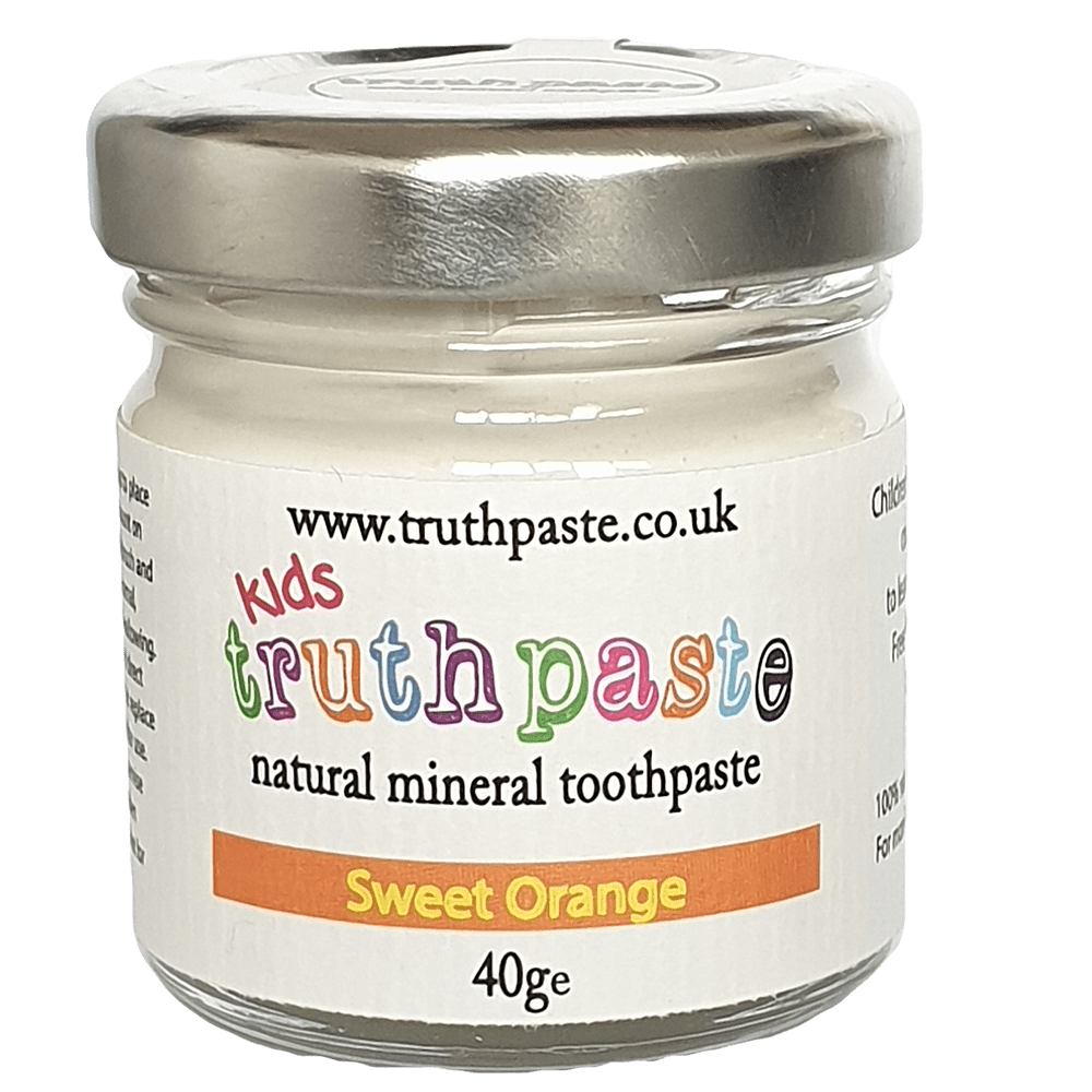 Truthpaste Kids - Natural Toothpaste Sweet Orange (40g) &Keep