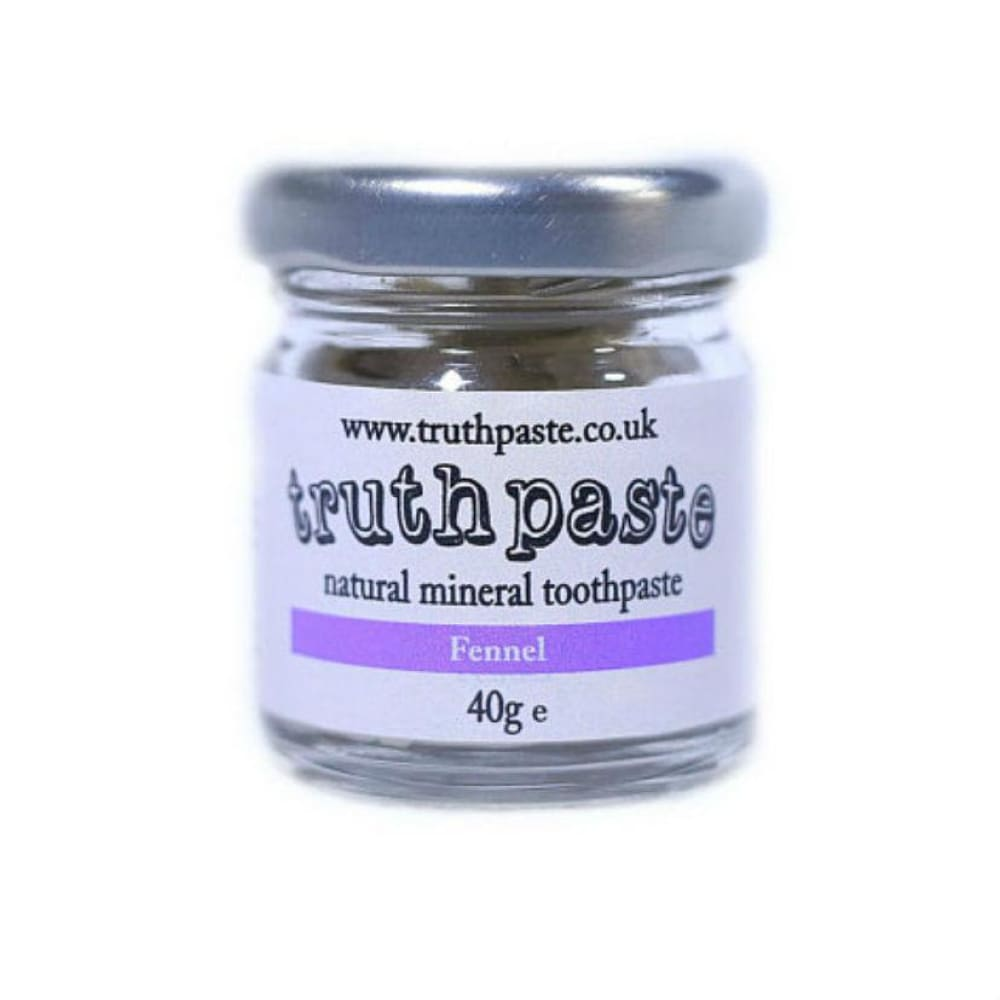 Truthpaste Truthpaste - Natural Toothpaste Fennel 40G &keep