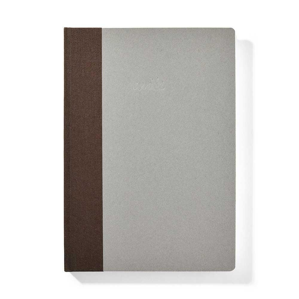Sustainable Dotted 'Write' Notebook - Brown &keep