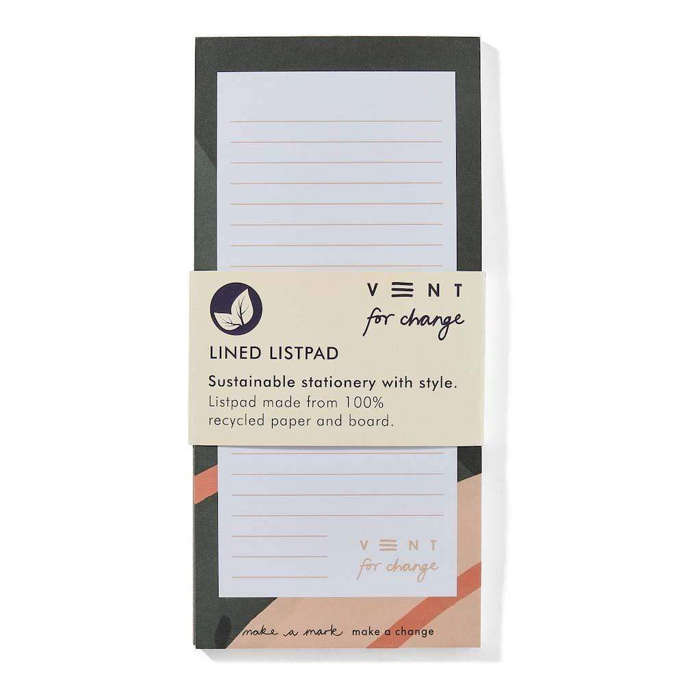 Recycled 'Ideas' List Pad &Keep