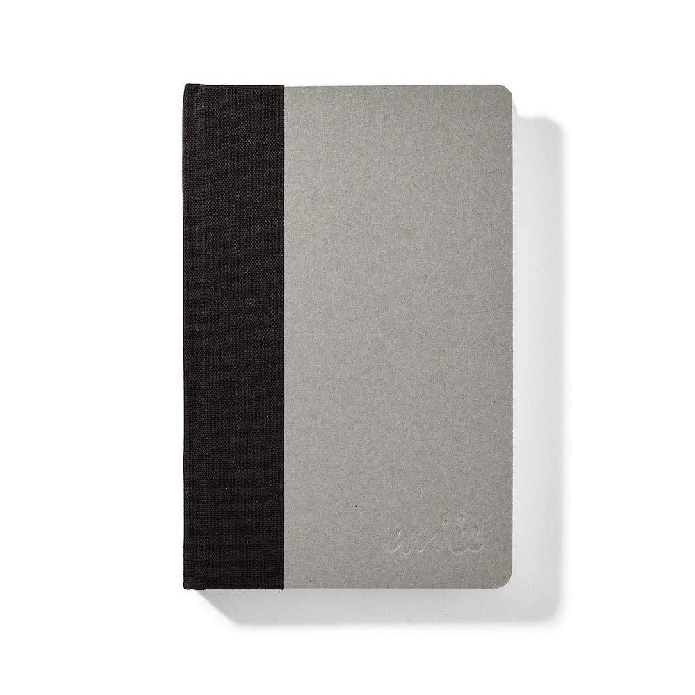 Sustainable Lined 'Write' Notebook - Black &Keep