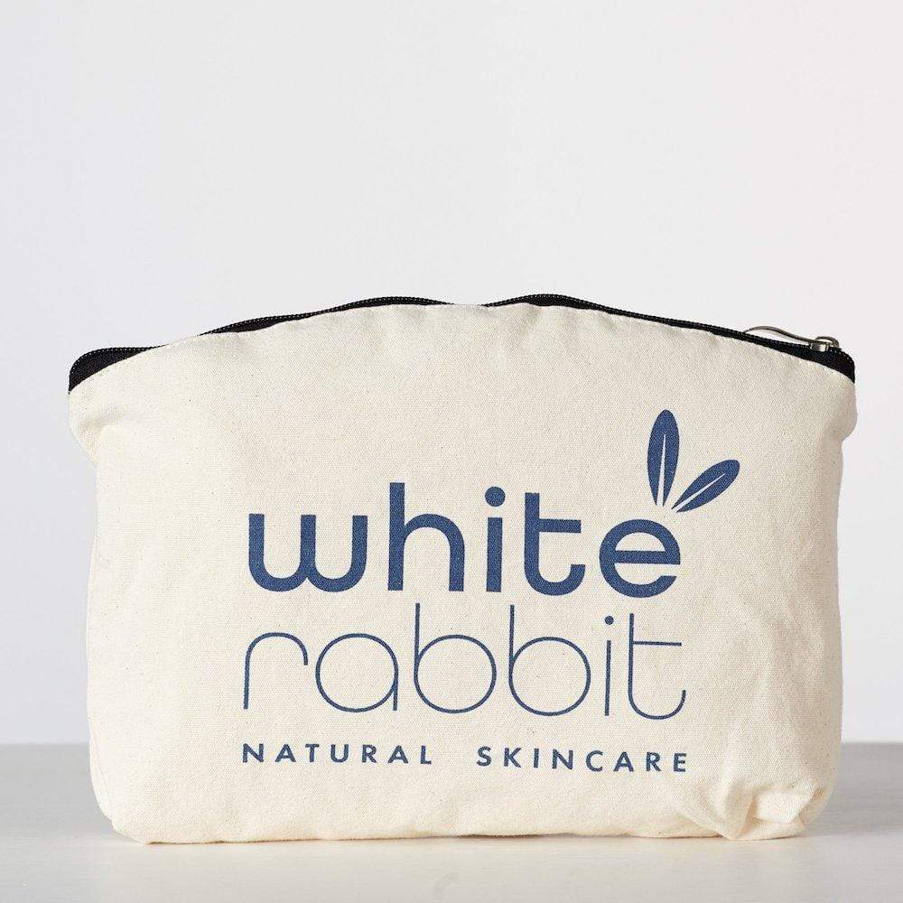 Cotton Cosmetic Bag - White Rabbit Skincare &Keep