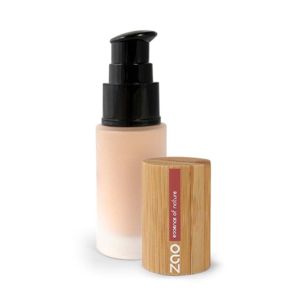 Zao Silk Fluid Foundation 701 Ivory &Keep