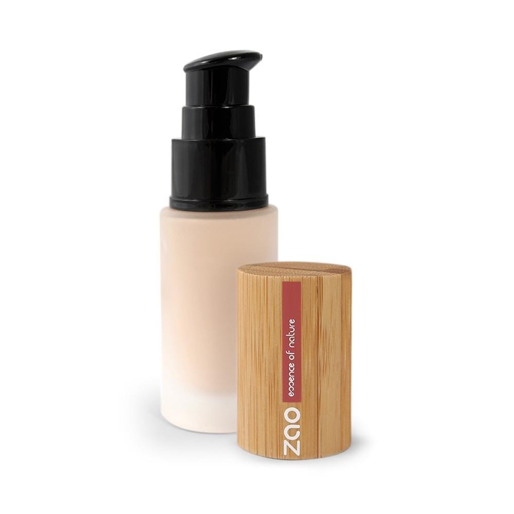 Zao Silk Fluid Foundation 711 Light Sand &Keep