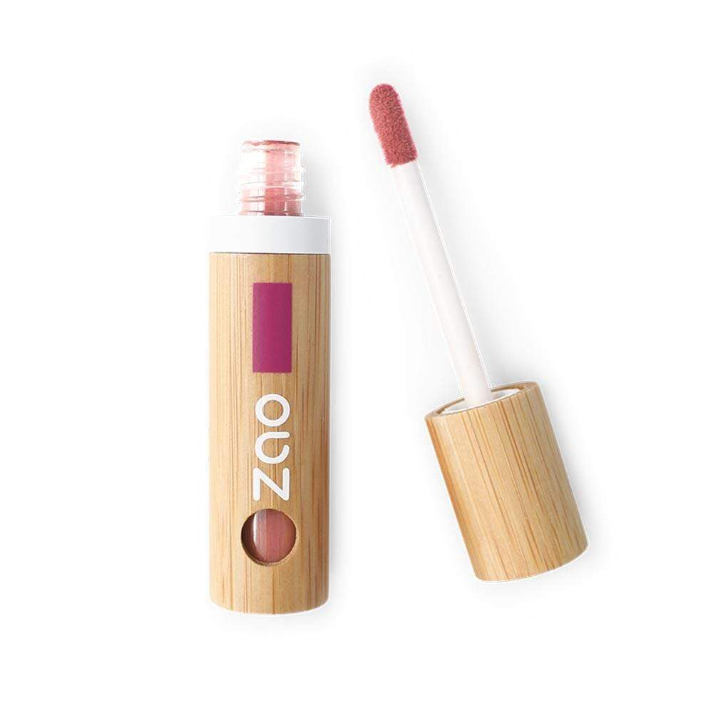 Organic Lip Ink by Zao - Coral Pink (444) &Keep