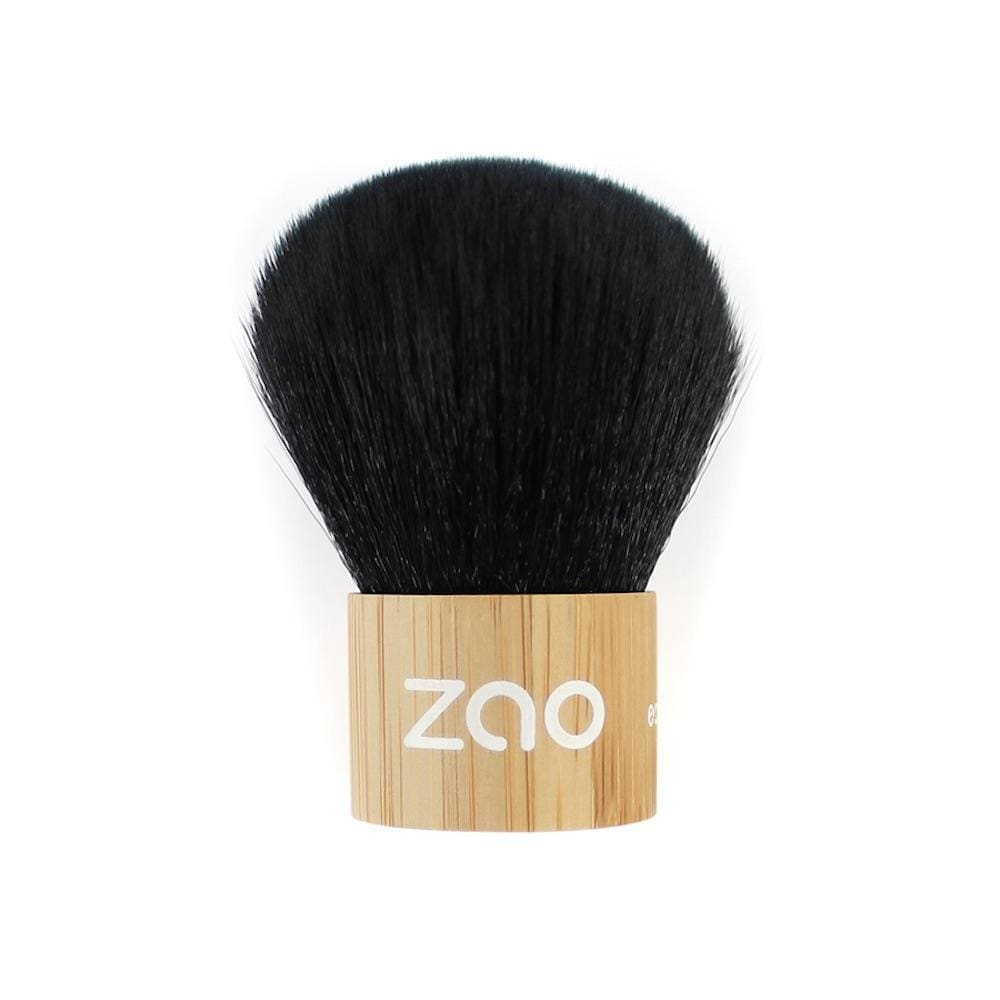 Zao Bamboo Kabuki Make-Up Brush &Keep