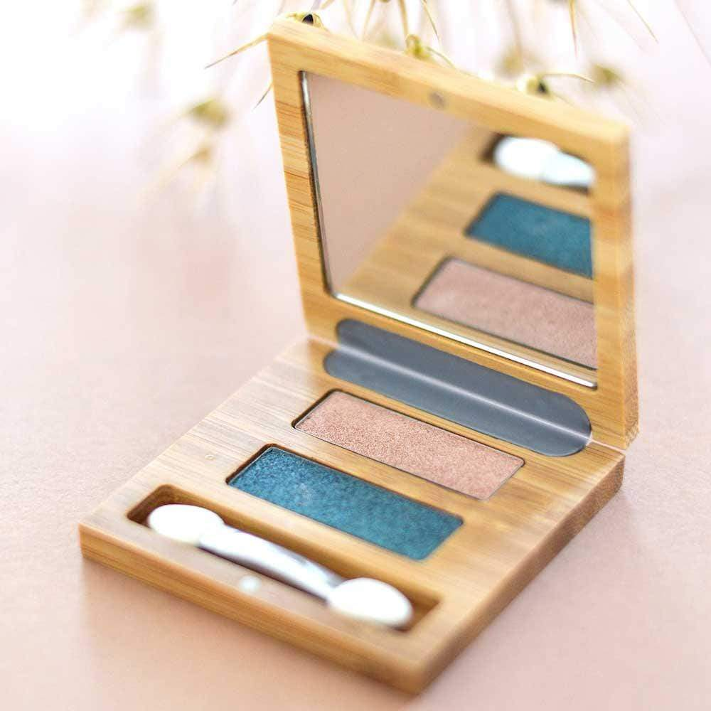 Bamboo Duo Eyeshadow Palette by Zao