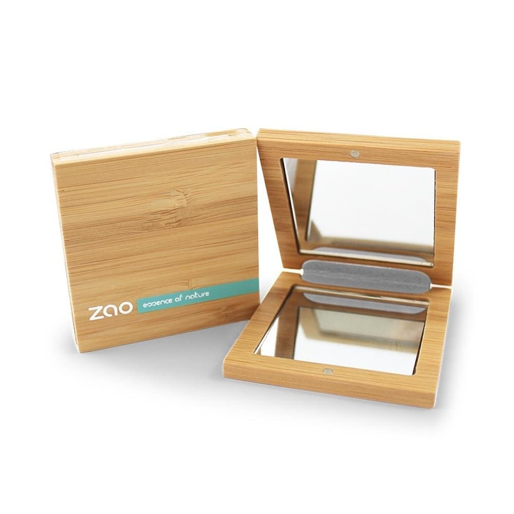 Zao Bamboo Compact Mirror &Keep