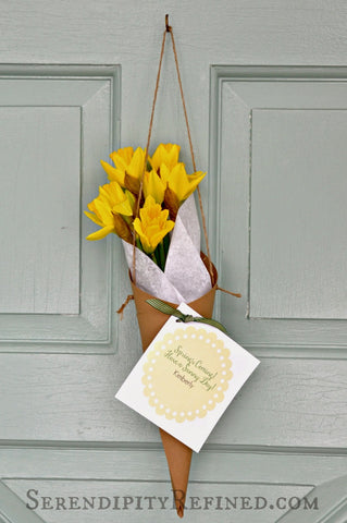 Daffodils cards mothers day