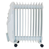 2.5kW Oil Filled Radiator | Igenix IG2650 | Grey - GoShopDirect
