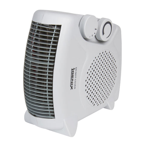 Fan Heater | Igenix IG9010 | Flat/Upright Fan Heater - GoShopDirect