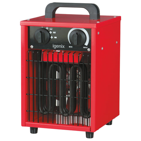 Industrial Fan Heater | Igenix IG9302 - GoShopDirect