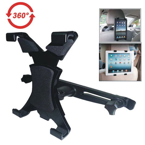 Headrest Tablet Holder | Fits 7 - 11 Inch Tablets - GoShopDirect