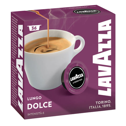 Lavazza Coffee Capsules | Dolcemente | 36 Pack - GoShopDirect