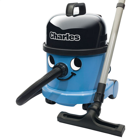 Numatic Hoover | Charles Wet and Dry Cleaner | Blue - GoShopDirect
