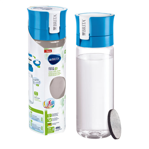 BRITA Water Filter Bottle | Vital fill & go | Blue - GoShopDirect
