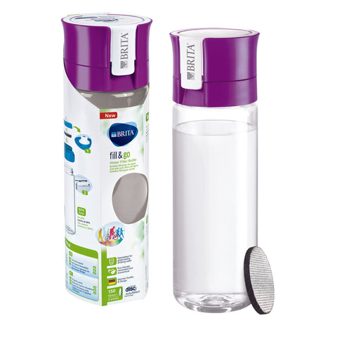 BRITA Water Filter Bottle | Vital fill & go | Purple - GoShopDirect