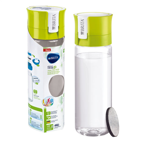 BRITA Water Filter Bottle | Vital fill & go | Lime - GoShopDirect