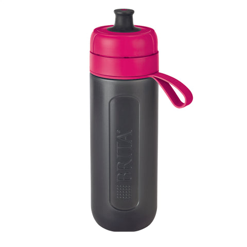 BRITA Water Filter Bottle | fill & go Active Bottle | Pink - GoShopDirect