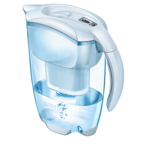 BRITA Water Filter Jug | Elemaris fill & enjoy | White - GoShopDirect
