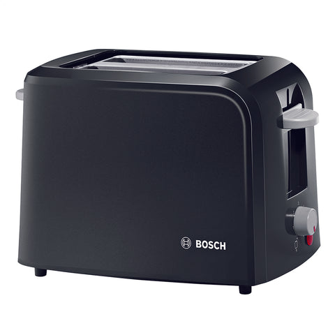 Bosch Toaster | 2-Slice Village Collection Toaster | Black - GoShopDirect