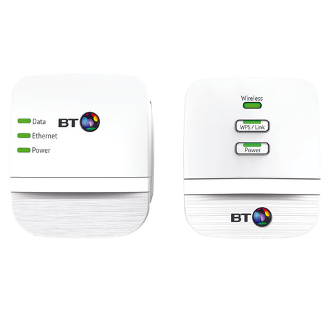BT Wi-Fi Hotspot | Home Powerline Adapter Kit - GoShopDirect