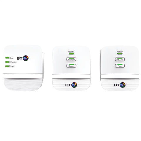 BT Wi-Fi Hotspot | Powerline Multi-Adapter Kit - GoShopDirect