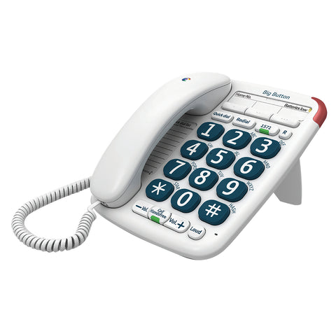 BT Telephone | Big Button | Corded Telephone - GoShopDirect