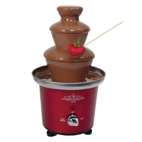 Gourmet Gadgetry Chocolate Fountain | Retro Diner Design - GoShopDirect