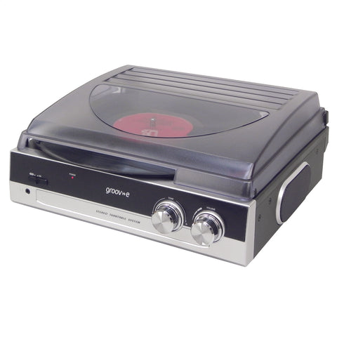 Groove Vinyl Turntable | Built In Amplifier - GoShopDirect