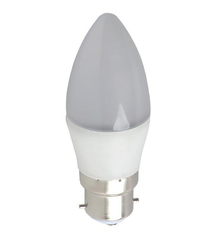 LED Light Bulb | Candle | B22 | 5W - GoShopDirect