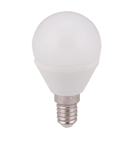 LED Light Bulb | Golf Ball | E14 | 5W | Pack of 5 - GoShopDirect