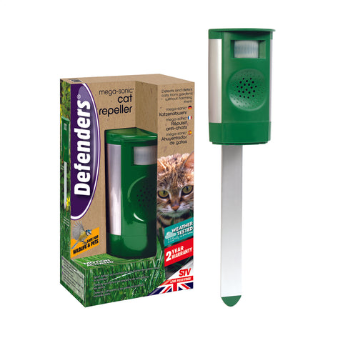 Garden Cat Repeller | Mega Sonic - GoShopDirect