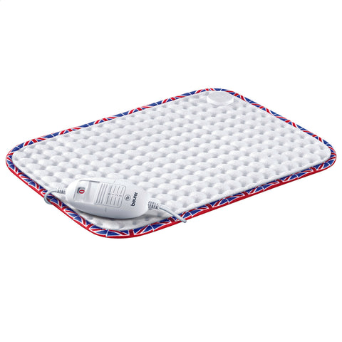 Beurer Heat Pad | Cosy Finish with GB Flag Trim - GoShopDirect