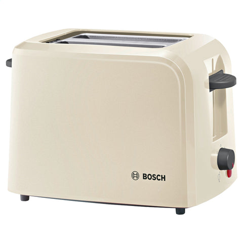 Bosch Toaster | 2-Slice Village Collection Toaster | Cream - GoShopDirect
