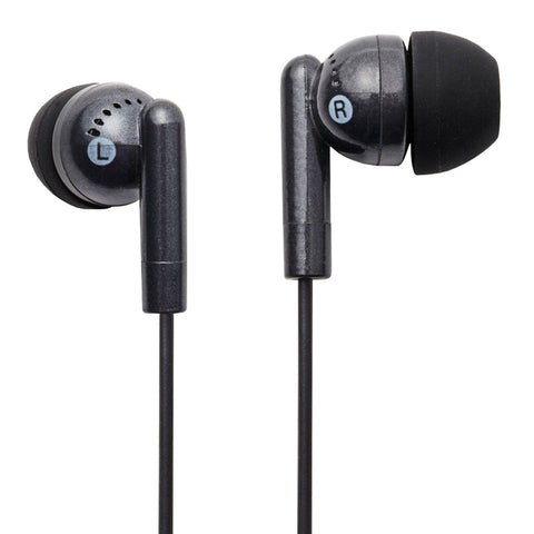 Groove Headphones | Kandy Earphones | Black - GoShopDirect