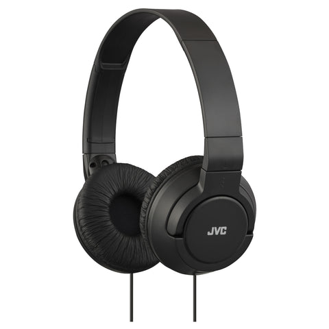 JVC Headphones | Foldable Headphones | Black - GoShopDirect