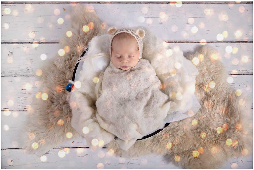 Add beautiful effects to your baby pictures with apps such as 'Bokehful'