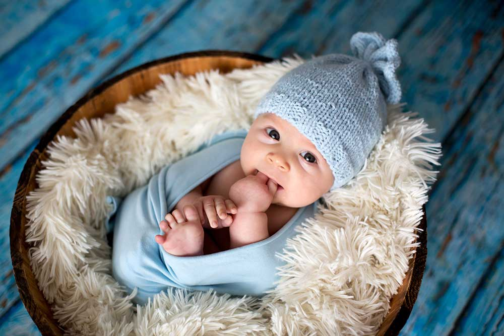 Babies + Baskets make for some adorable baby photos!