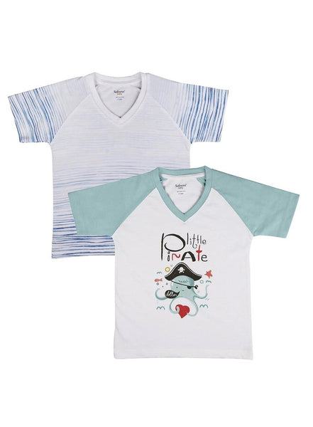 2 Pack Baby Blues Soft Jersey Tees-Kids Clothing-Softsens