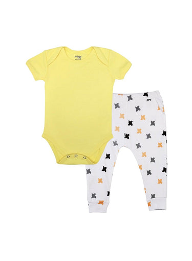 2-Piece Sweet Sunshine Bodysuit & Knit Pants Set-Baby Clothing-Softsens