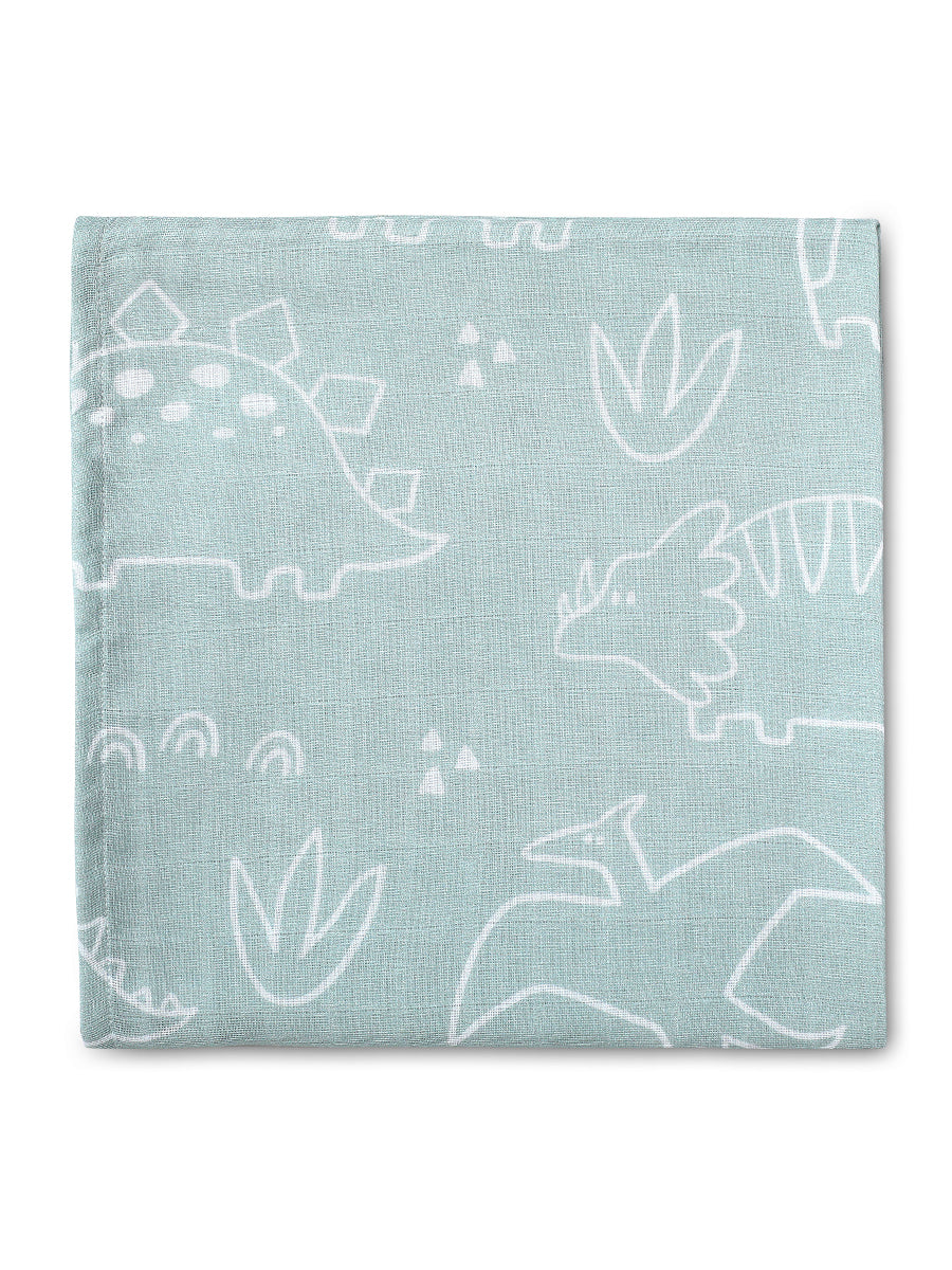 Into the Wild Pack of 2  Certified Organic Muslin Swaddles