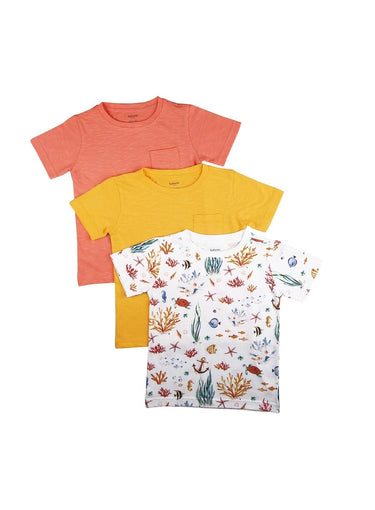 3 Pack Awesome Threesome Soft Jersey Tees-Kids Clothing-Softsens